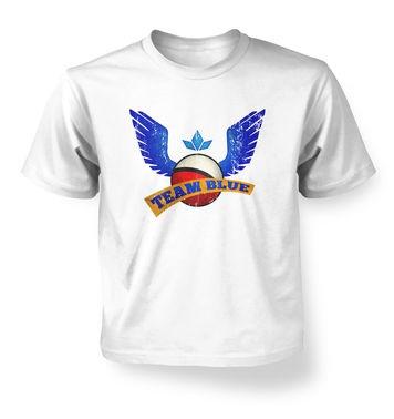 Team Blue kids t-shirt