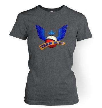 Team Blue womens t-shirt
