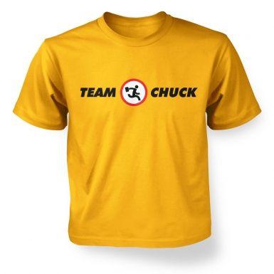Team Chuck  kids t-shirt