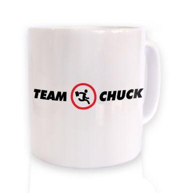 Team Chuck mug