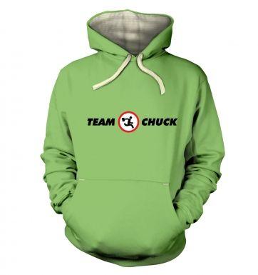 Team Chuck  hoodie (premium)