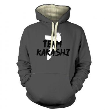 Team Kakashi  hoodie (premium)