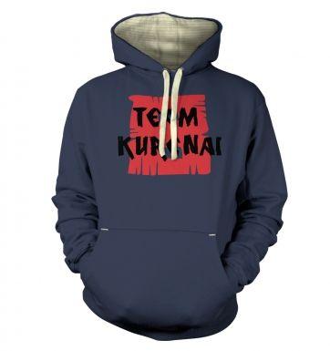 Team Kurenai  hoodie (premium)
