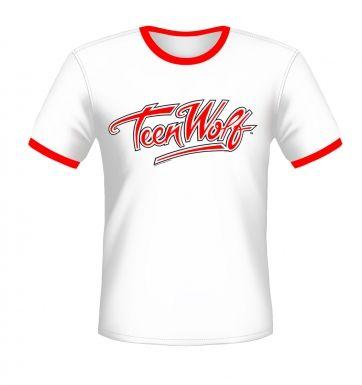 Teen Wolf Logo ringer t-shirt - OFFICIAL