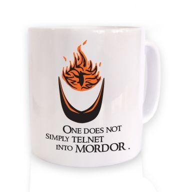 Telnet into Mordor mug