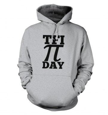 TFI Pi Day hoodie