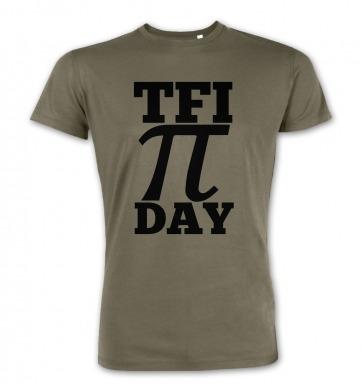 TFI Pi Day premium t-shirt