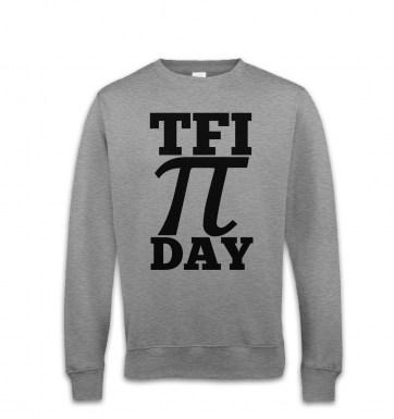 TFI Pi Day sweatshirt