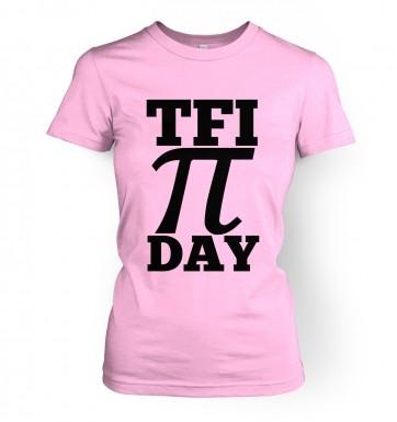 TFI Pi Day women's t-shirt