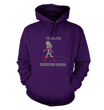 The Amazing Wandering Woman hoodie