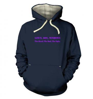 The Good, The Bad hoodie (premium)