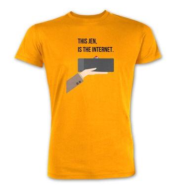 The Internet premium t-shirt