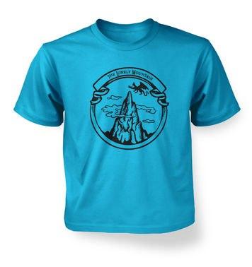 The Dragon Mountain  kids t-shirt