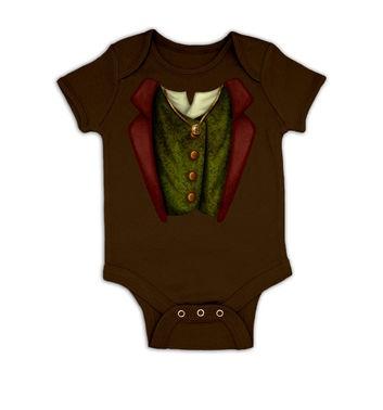 The Ring Bearer Costume baby grow