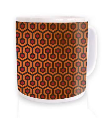 The Shining Carpet 1 mug