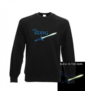 The sting glow in the dark sweatshirt