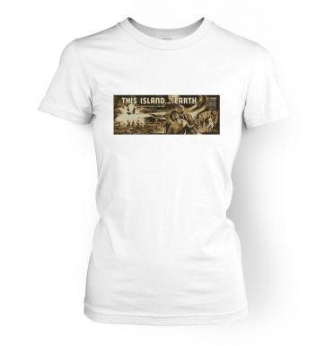 This Island Earth  womens t-shirt