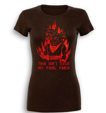 This Isn't Even My Final Form premium womens t-shirt