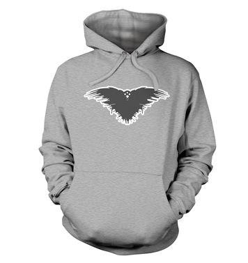 Three Eyed Crow premium hoodie