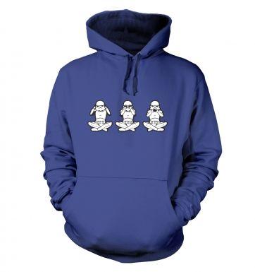 Three Wise Stormtroopers  hoodie