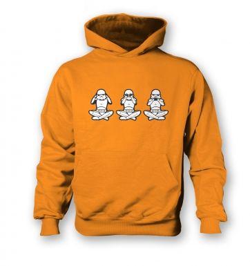 Three Wise Stormtroopers kids' hoodie