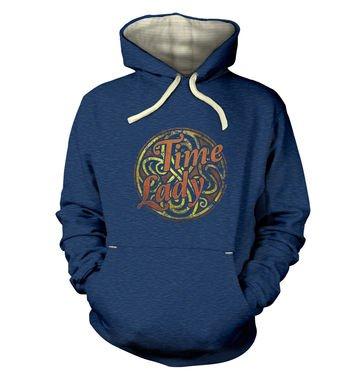 Time Lady premium hoodie