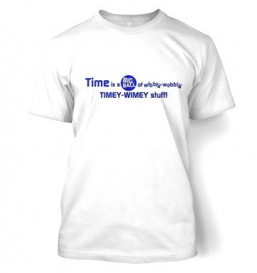 TimeyWimey Stuff t-shirt
