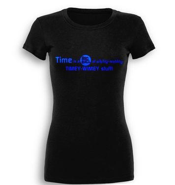 TimeyWimey Stuff premium women's t-shirt