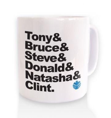 Tony And Bruce And mug