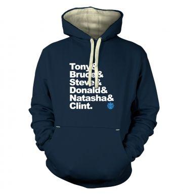 Tony And Bruce And hoodie (premium)