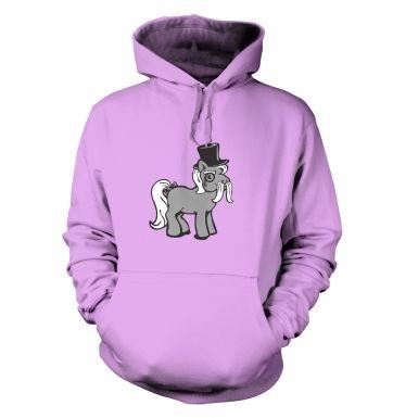 Top Hat Pony hoodie