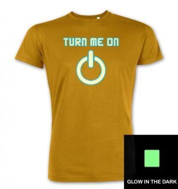 Turn Me On Power Symbol Glow In The Dark premium t-shirt