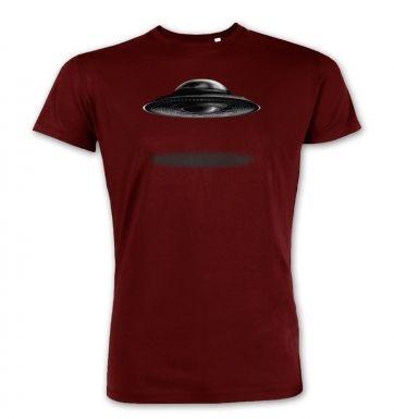 UFO Landing Flying Saucer premium t-shirt