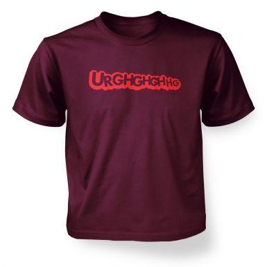 Urghghghgh  kids t-shirt