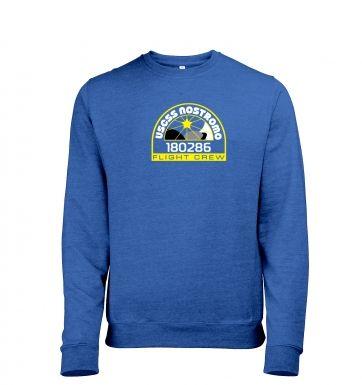 USCSS Nostromo Crew Badge heather sweatshirt