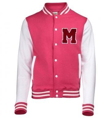 Varsity Jacket Chenille Letter Mvarsity jacket