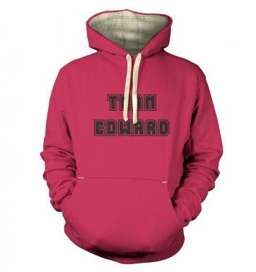 Varsity Style Team Edward  hoodie (premium)