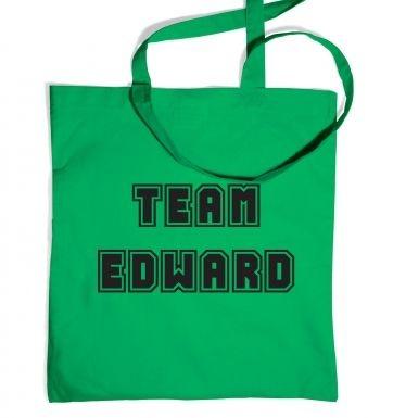 Varsity Style Team Edward tote bag