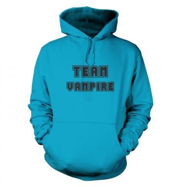 Varsity Style Team Vampire  hoodie