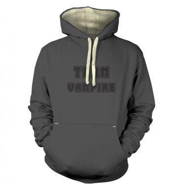 Varsity Style Team Vampire  hoodie (premium)