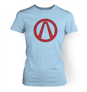 Vault Symbol  womens t-shirt