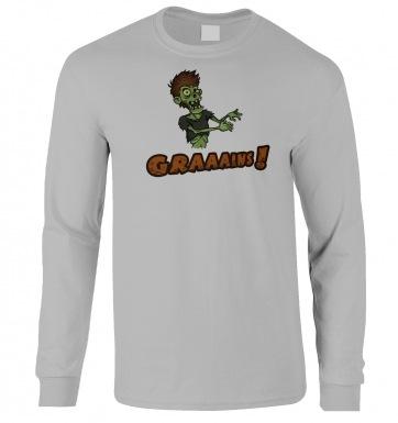 Veggie Zombie long-sleeved t-shirt
