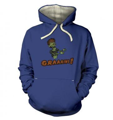 Veggie Zombie  hoodie (premium)