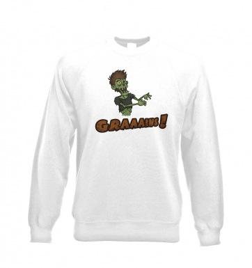 Veggie Zombie sweatshirt