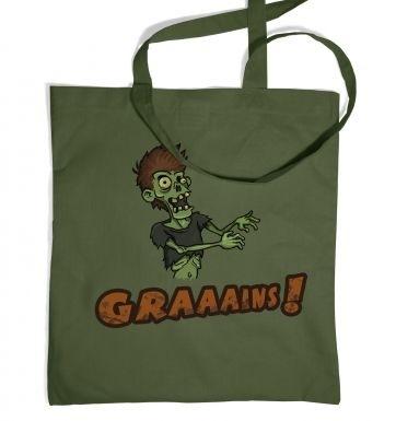 Veggie Zombie tote bag