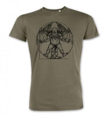Vitruvian Cthulhu premium t-shirt