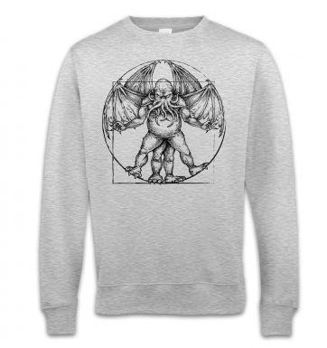Vitruvian Cthulhu sweatshirt