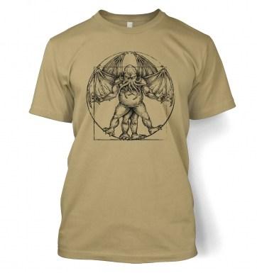 Vitruvian Cthulhu t-shirt