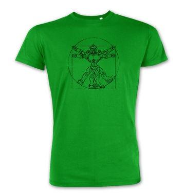 Vitruvian Robot premium t-shirt