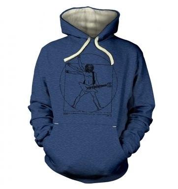 Vitruvian Rocker hoodie (premium)